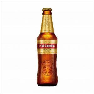Cerveza Club Colombia dorada